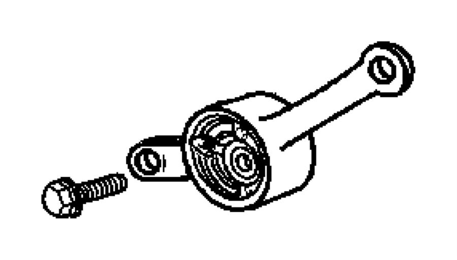 Dodge Neon Engine Timing Belt Tensioner. LITER
