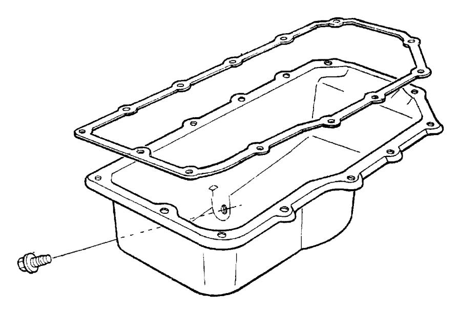 Dodge Neon Engine Oil Pan. BEARINGS, CYLINDER, LITER