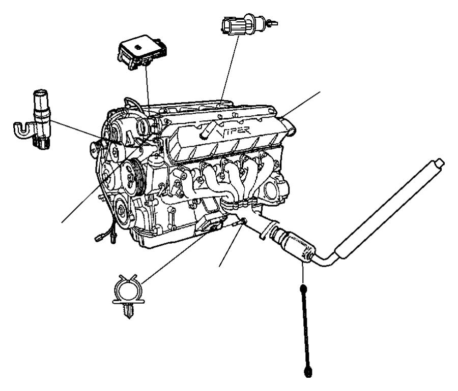 Dodge Intrepid Engine Crankshaft Position Sensor