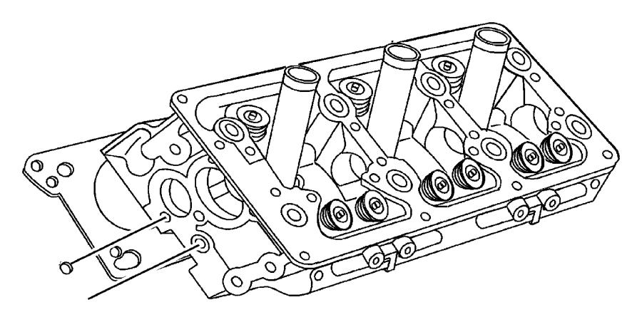 Chrysler 300M Engine Cylinder Head Gasket. Right, Models