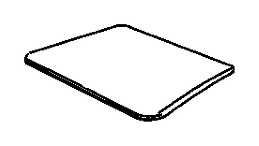 Dodge Dakota Seat Heater Pad. Left, FRONT, BUCKET