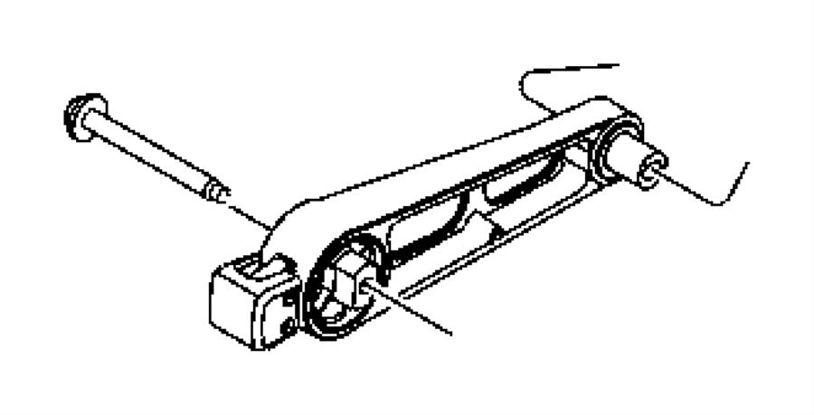 Chrysler PT Cruiser Automatic Transmission Mount