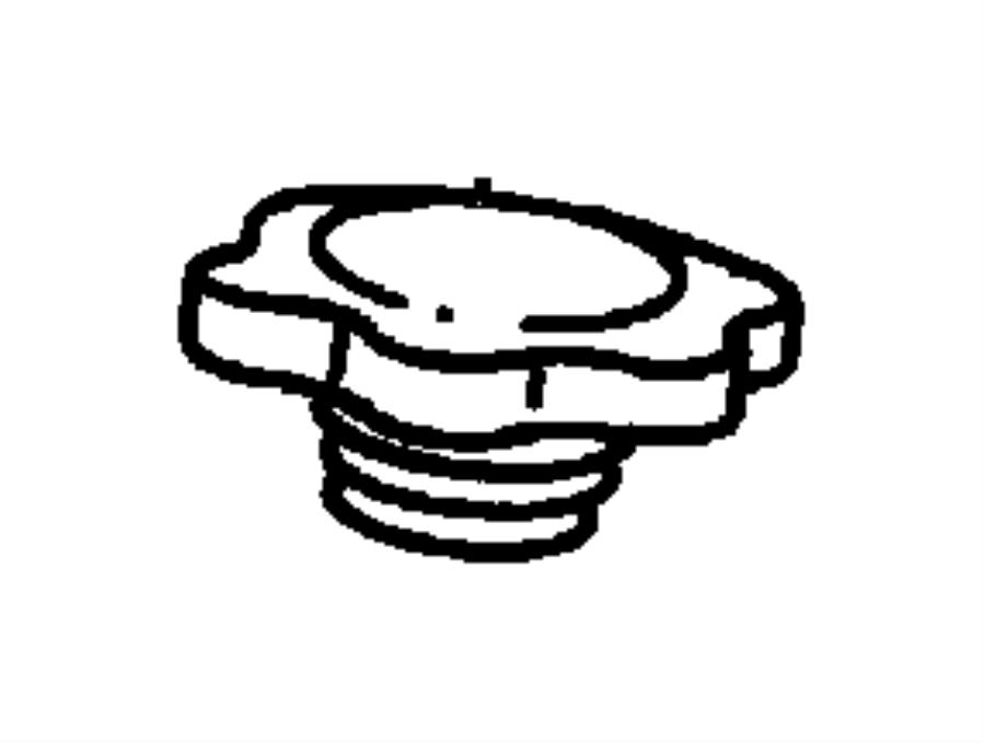 Dodge Intrepid Engine Oil Filler Cap. 3.9 LITER. 5.2 & 5.9