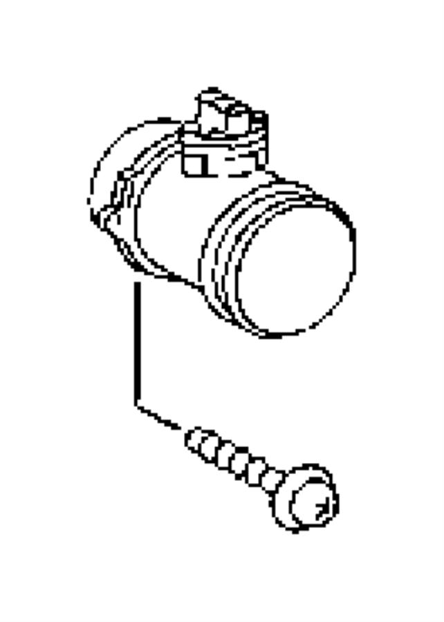 Dodge SPRINTER 3500 Mass Air Flow Sensor. Engine, That