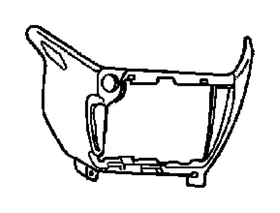 Dodge Grand Caravan 12 volt accessory power outlet cover