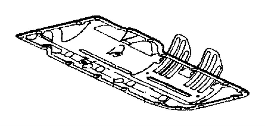 Dodge Challenger Engine Oil Pan Gasket. Engine Oil Pan