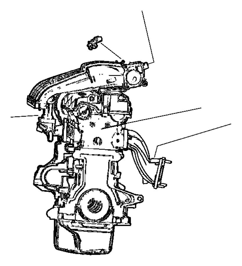 Dodge Sprinter 2500 Manifold Absolute Pressure Sensor