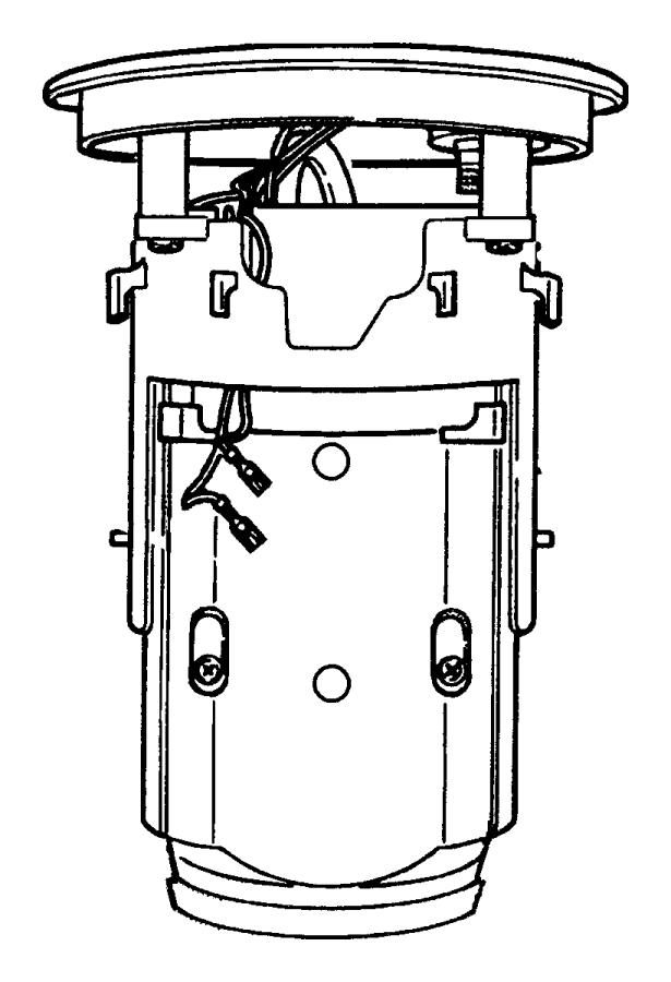 Dodge Viper Electric Fuel Pump. Viper; w/Sending Unit