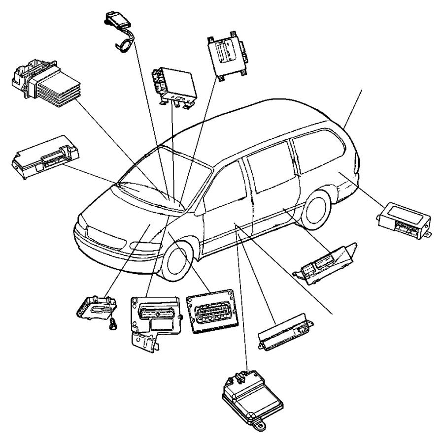 Dodge Grand Caravan Air Bag Passenger Presence Module