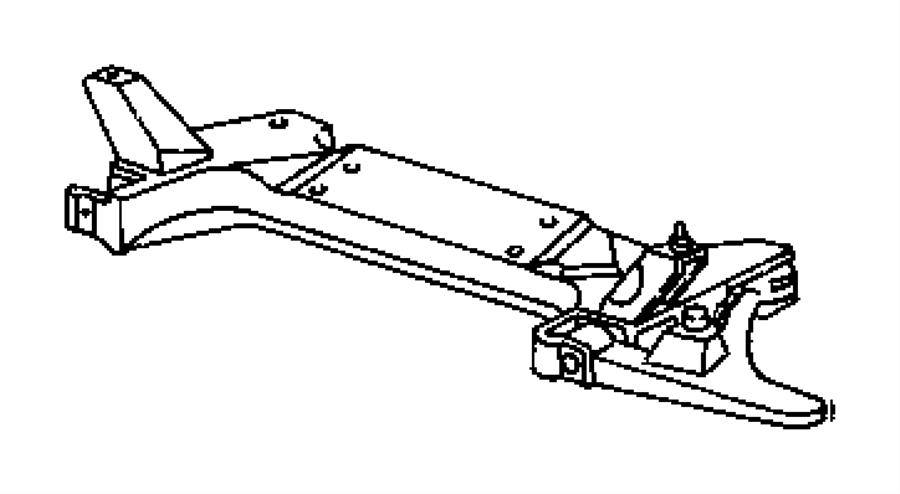Dodge Stratus Engine Cradle. Engine cradle. SUSPENSION