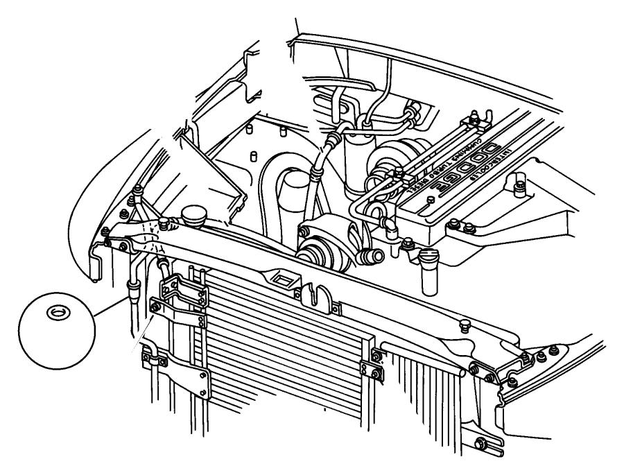 Dodge Ram 2500 Air conditioning (a/c) liquid. Air