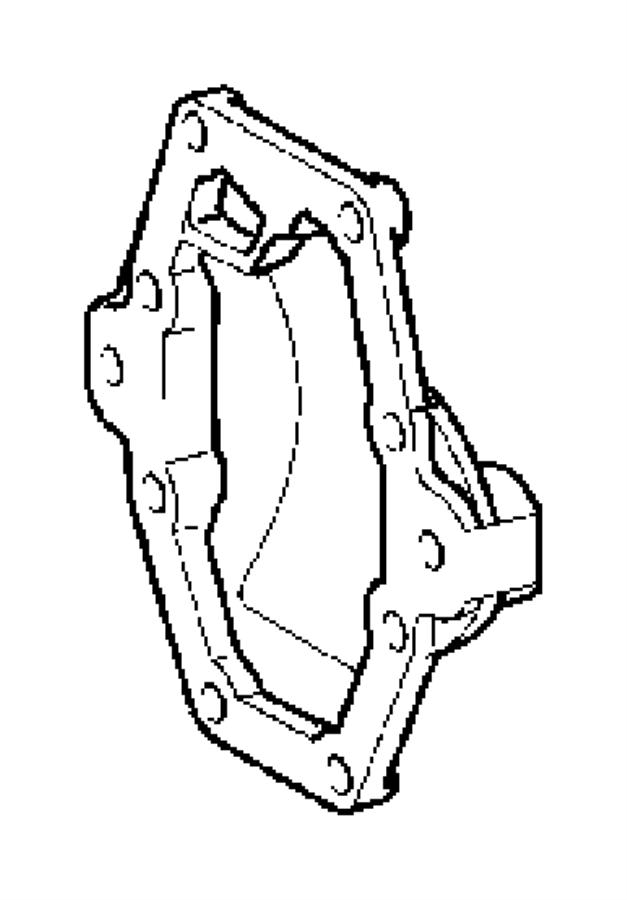 Chrysler 300 Drive Axle Shaft Seal (Rear). Challenger; 2