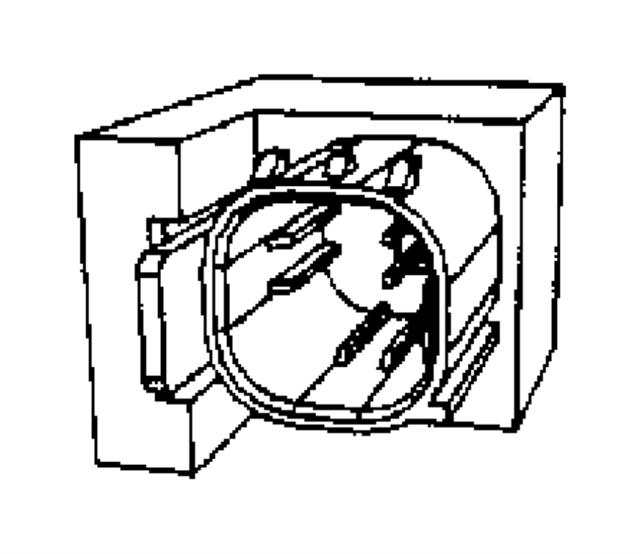 Jeep Wrangler Air Bag Seat Sensor Mat. Occupant, Make