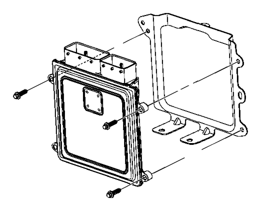 Jeep Patriot Engine Control Module. Trans, Manual, LITER