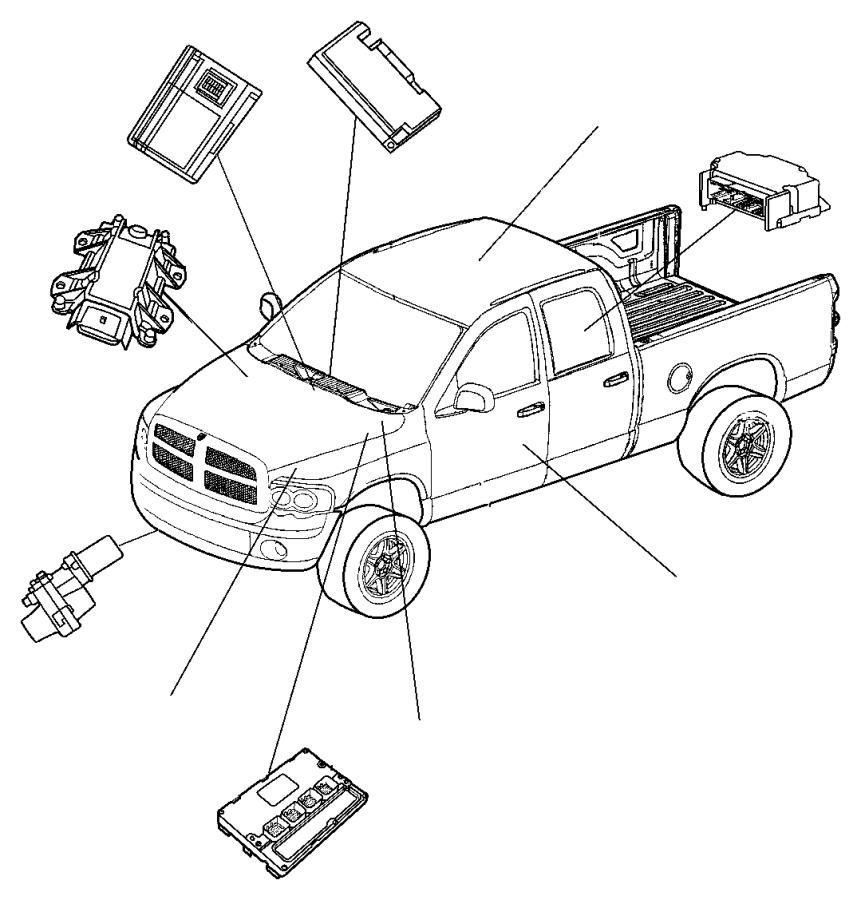 Dodge Ram 3500 Fuse Box. 5.9 liter diesel. MEGA CAB, 5.9