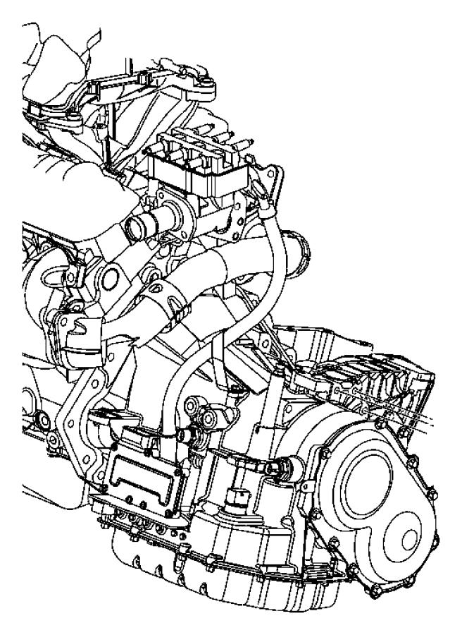 Chrysler Voyager Engine Mount. LITER, SUPPORT, Side