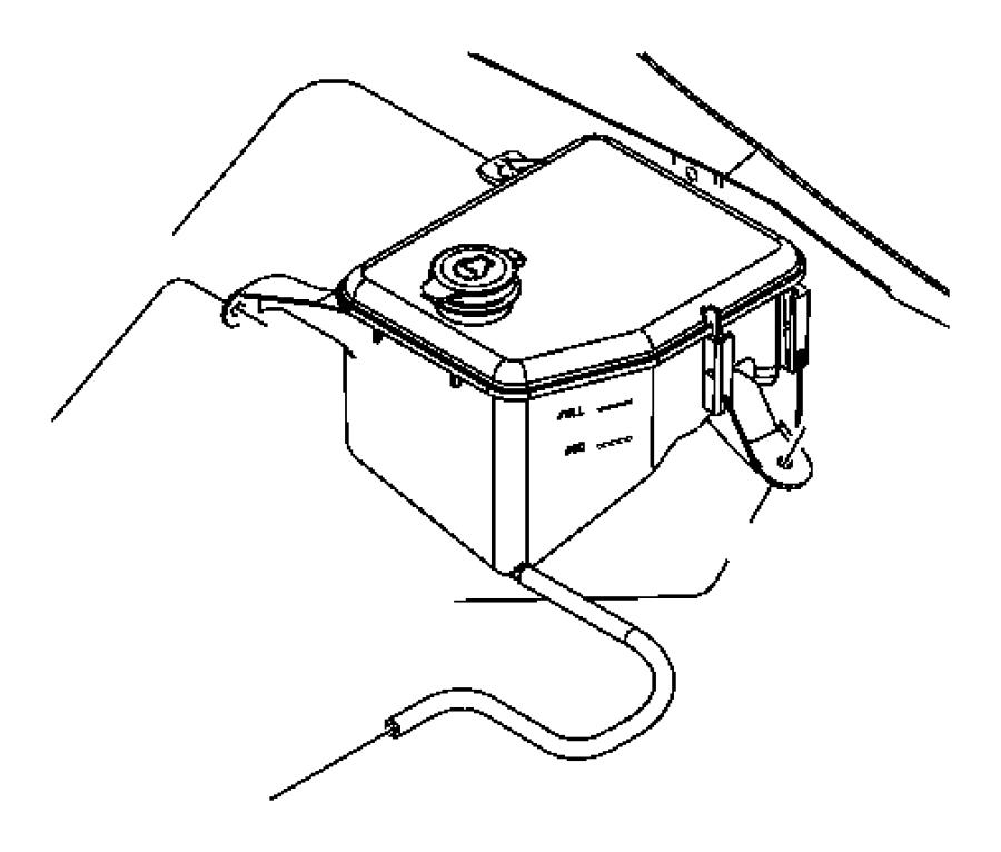 Jeep Grand Cherokee Engine Coolant Reservoir Cap