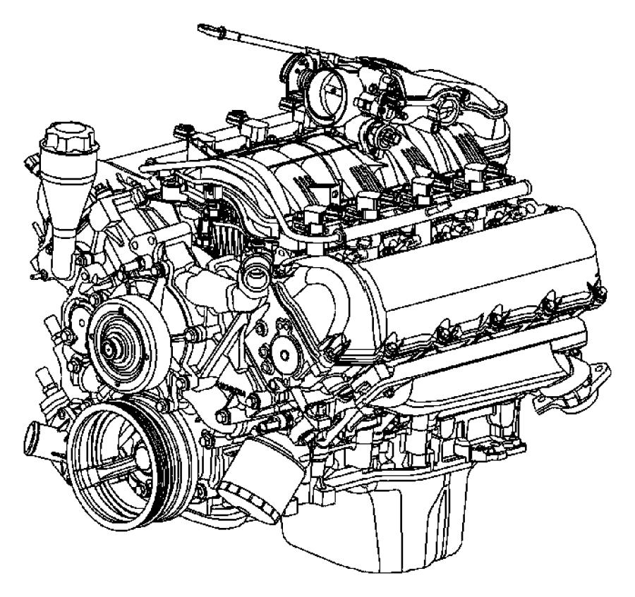 Jeep Grand Cherokee Exhaust manifold. 4.7 liter. Commander