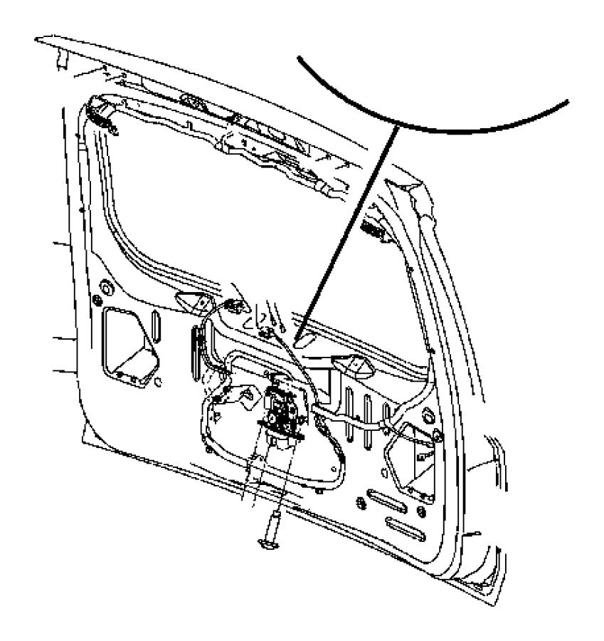 Jeep Grand Cherokee Lock. Latch. Actuator. Liftgate