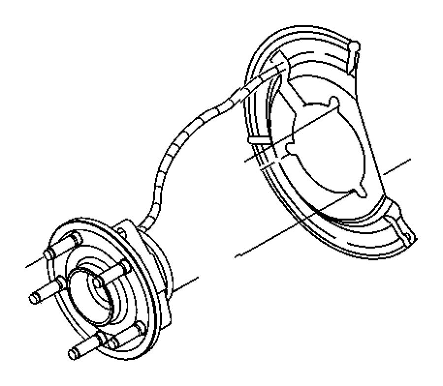 Dodge Dakota Wheel Bearing and Hub Assembly. Hub. Bearing