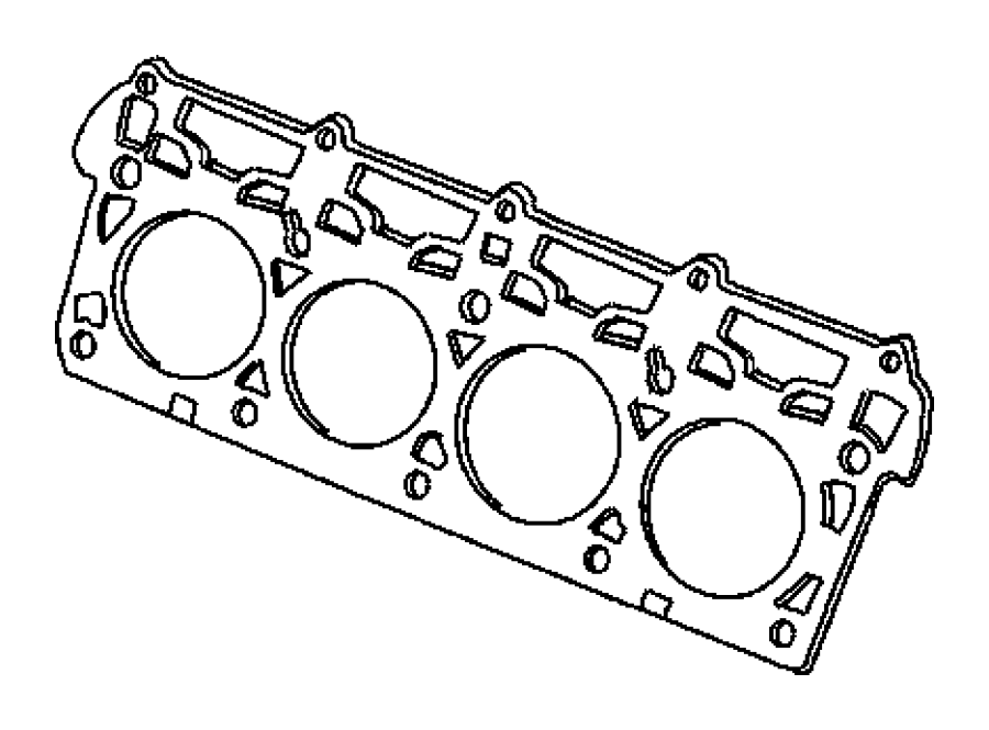 Dodge Challenger Engine Cylinder Head Gasket. Engine