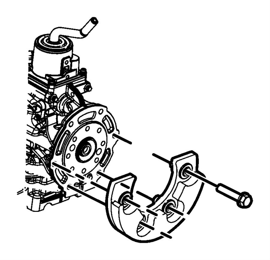Dodge NITRO Damper. Manual transmission. Transmission