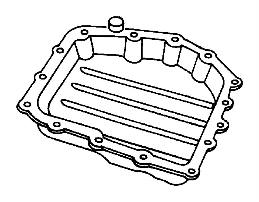 Dodge Grand Caravan Automatic Transmission Oil Pan
