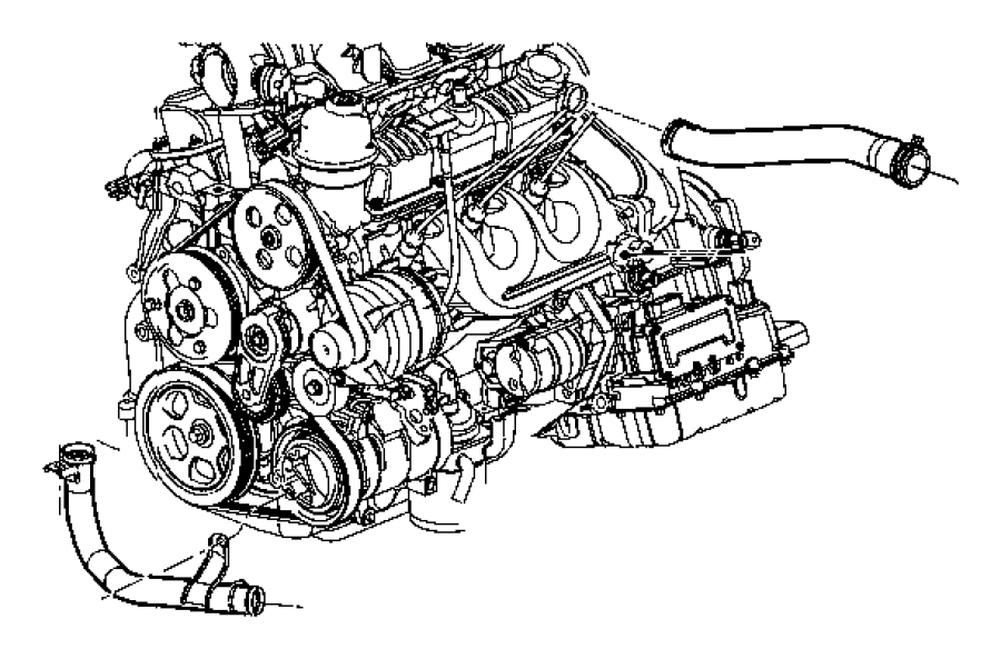 Jeep Wrangler Engine Coolant Thermostat. LITER, Models