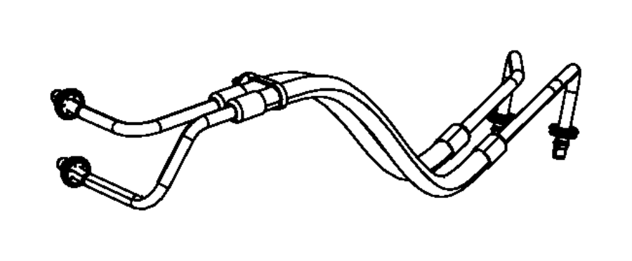 Chrysler Pacifica Automatic Transmission Oil Cooler Hose