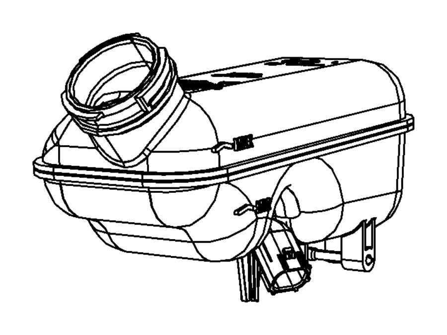 Dodge Grand Caravan Brake Master Cylinder Reservoir