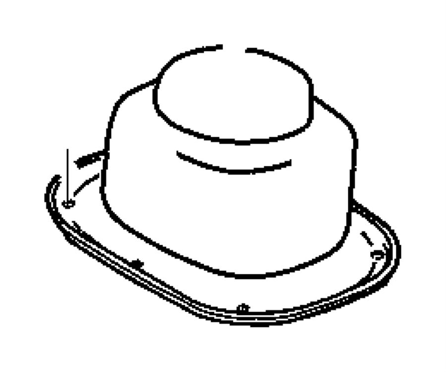 Dodge Ram 2500 Manual Transmission Shift Linkage Boot