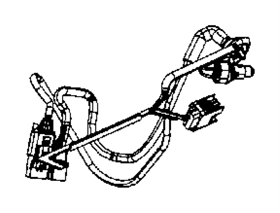 Chrysler Pacifica Wire harness. WIRING. PARK ASSIST SYSTEM
