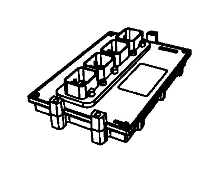 Dodge NITRO Engine Control Module. 4.0 LITER. Nitro; 4.0L