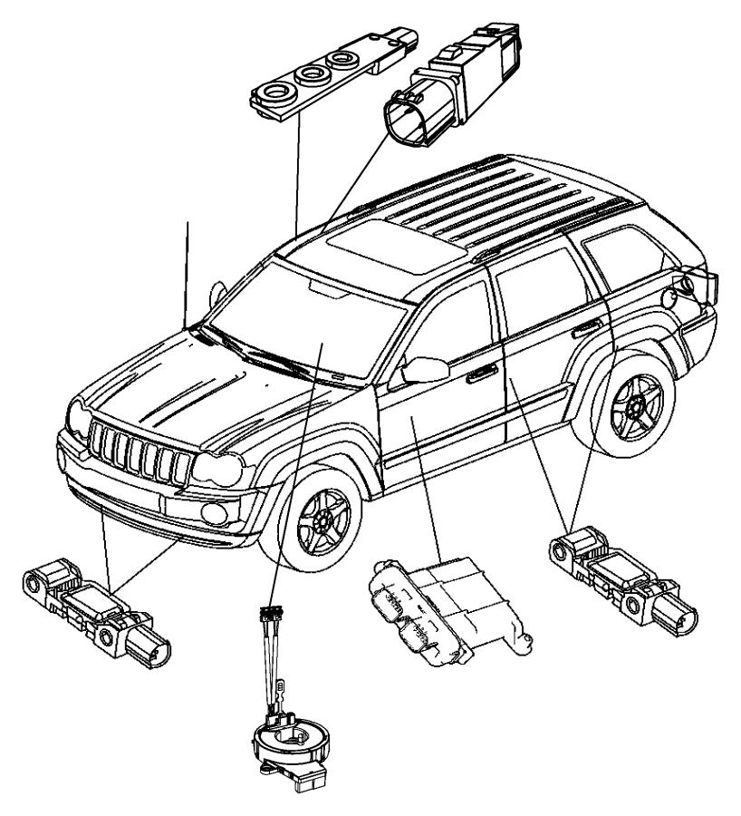 Jeep Grand Cherokee Air Bag Passenger Presence Module