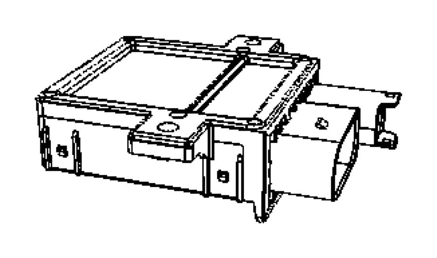 Dodge Sprinter 2500 Control module. Glow plug controller