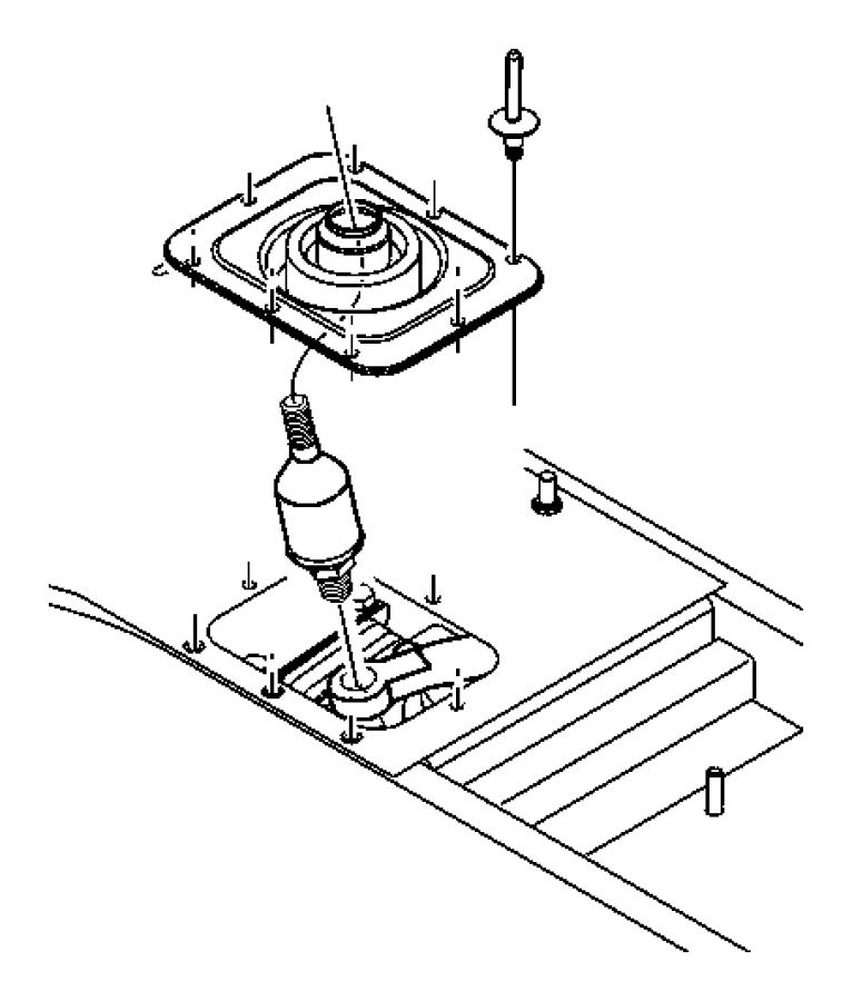 Dodge Viper Manual Transmission Shift Linkage Boot