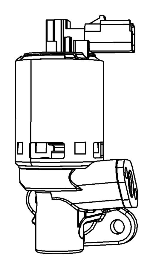 Chrysler Town & Country Egr valve. Emission, liter, repair