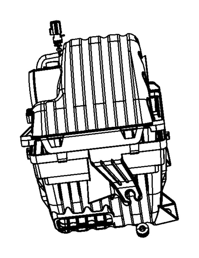 Chrysler Sebring Air cleaner. Air filter housing. Upper