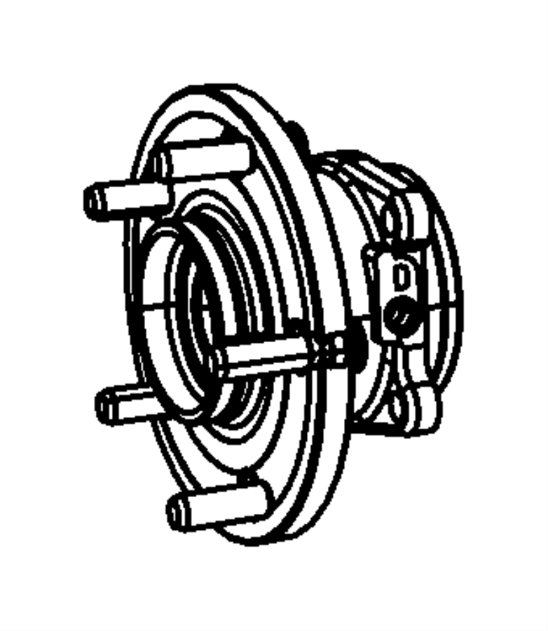 Chrysler Town & Country Wheel Bearing and Hub Assembly