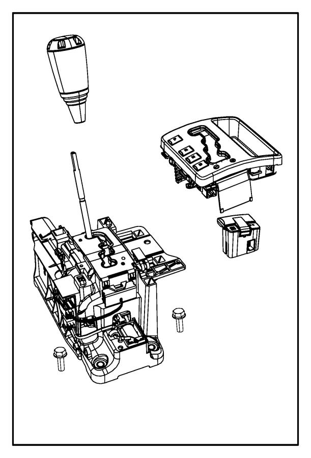 Dodge NITRO Automatic Transmission Shift Lever Knob. Auto