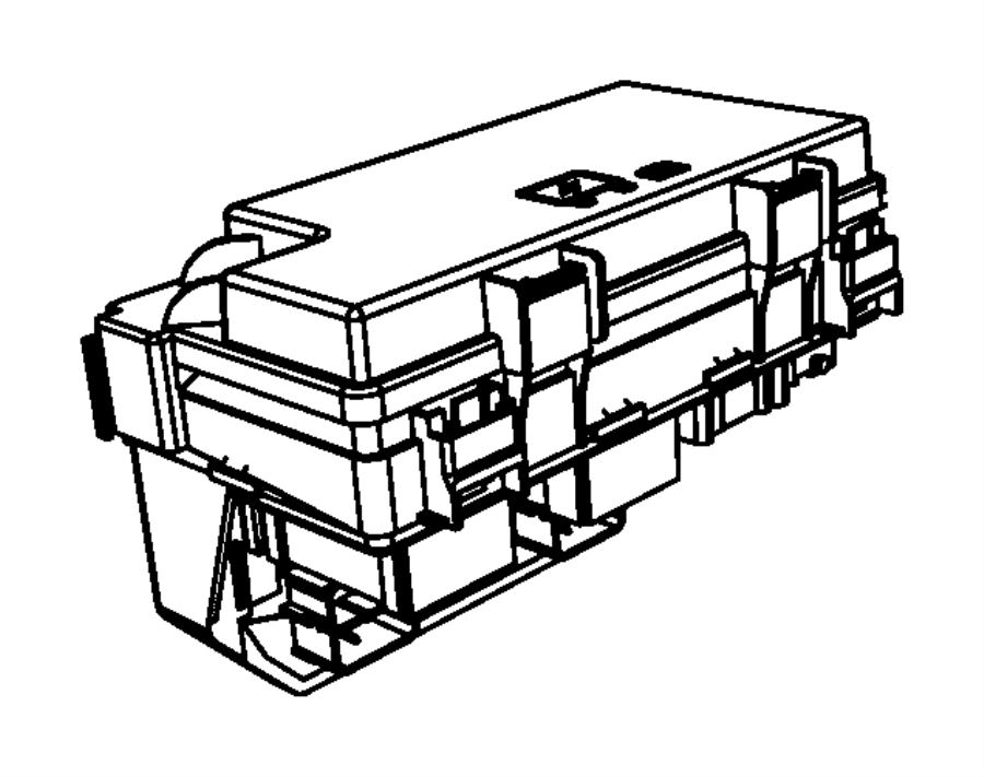 Dodge Grand Caravan Cover. Fuse. Box. AND. Relay. 2009-10