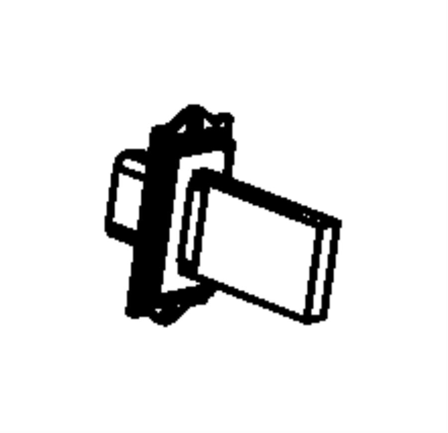 Chrysler Town & Country Hvac blower motor resistor