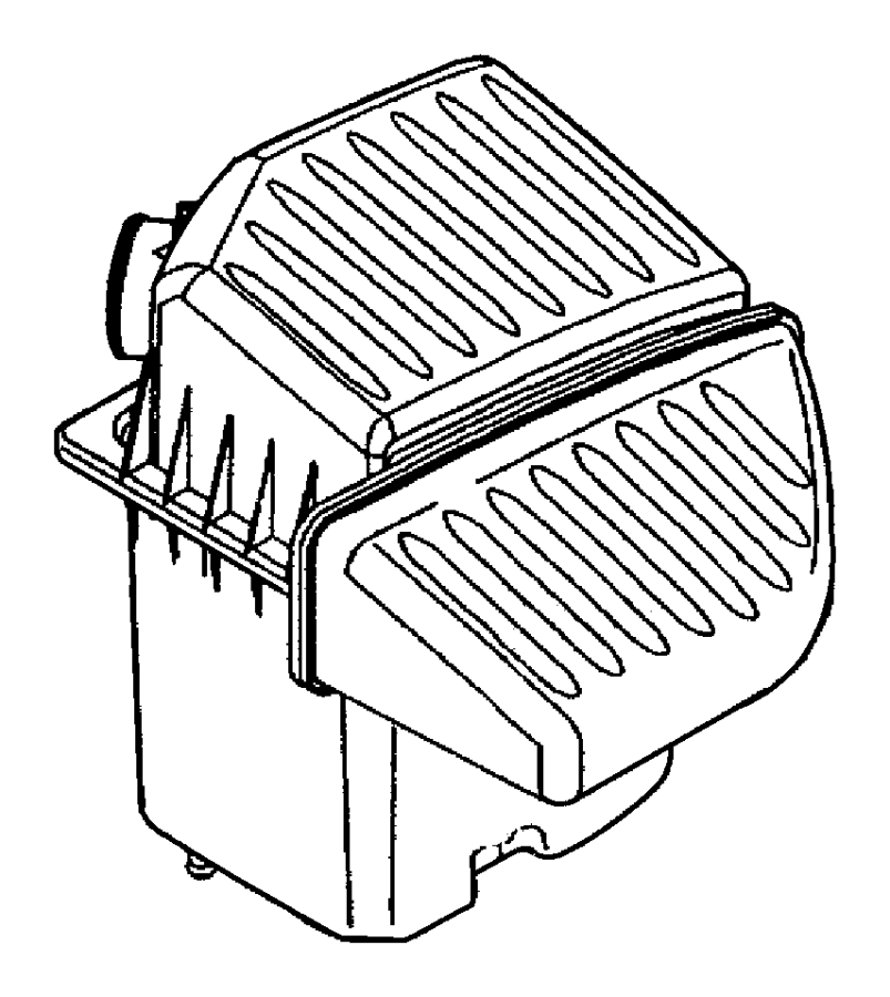 Chrysler PT Cruiser Air Filter Housing. CONVERTIBLE, w/o