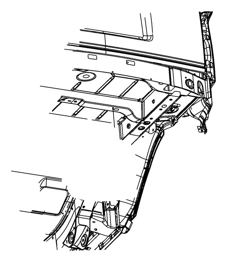Jeep Liberty Heat. Shield. Exhaust. Floor Pan. FUEL TANK