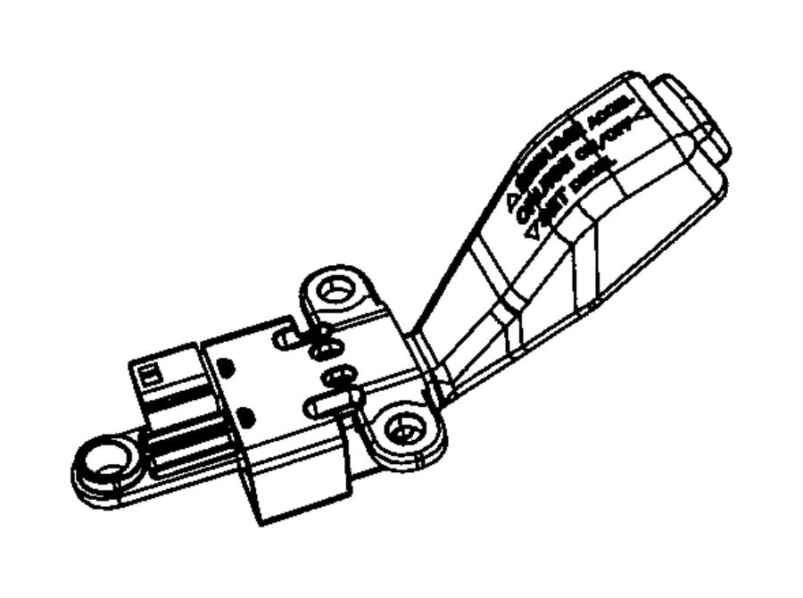 Dodge Magnum Cruise Control Switch. Repair, Steering