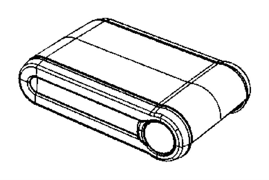 Jeep Wrangler Console Armrest. FULL SIZE, 2007-10, slate