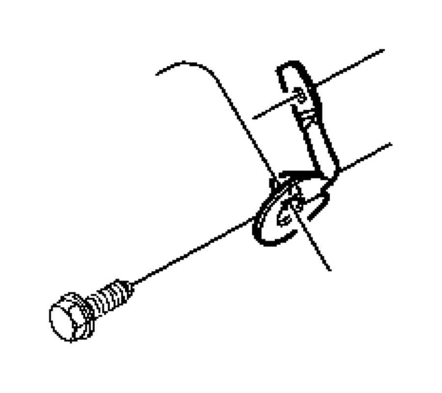 Jeep Grand Cherokee Automatic Transmission Shifter Cable