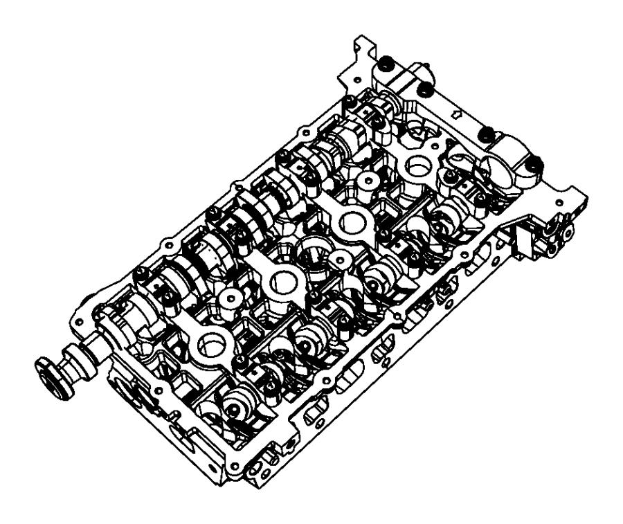 Chrysler Sebring Engine Cylinder Head. BEARINGS