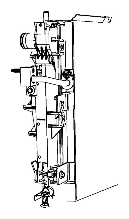 Dodge Avenger Air conditioning (a/c) condenser. A/c