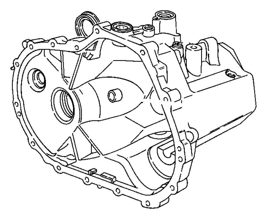 Dodge Caliber Manual Transmission Output Shaft Seal. AXLE